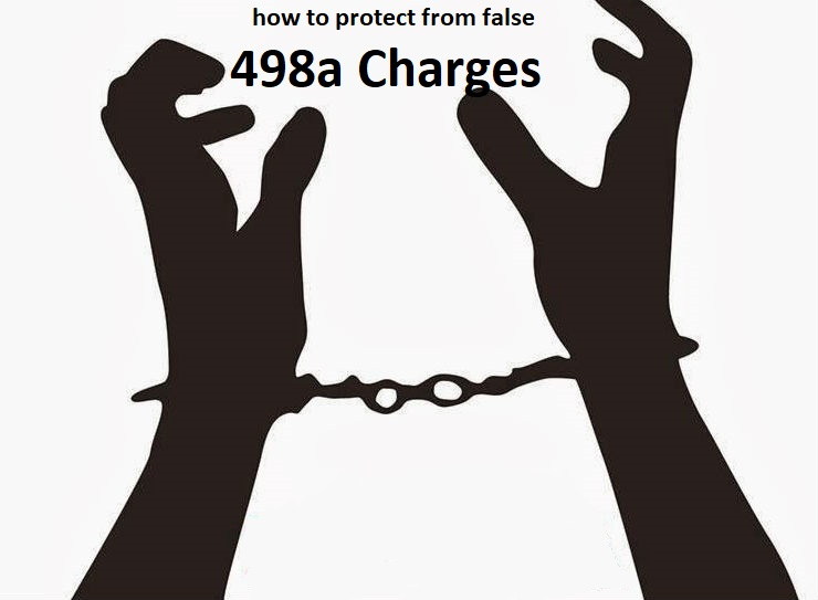 How to protect from false 498A cases